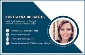 Khrystyna Bogaerts - KBMSTRATEGY